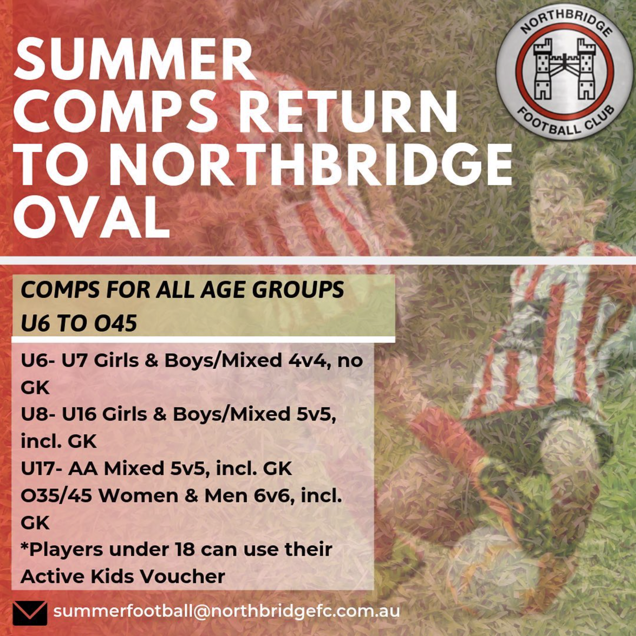 2019 Summer Comp Draws, Results & Rules