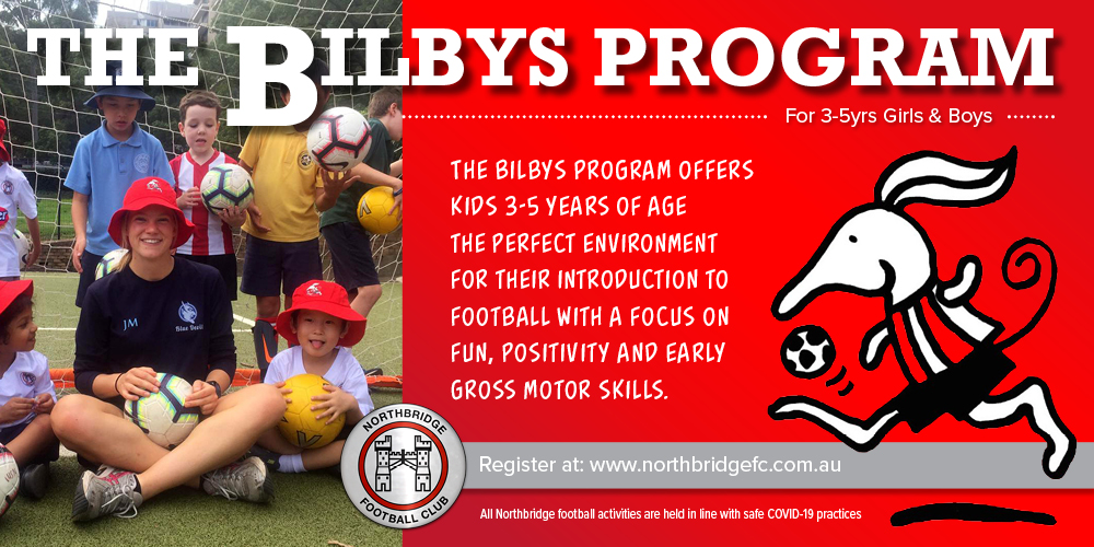 Northbridge FC – The Bilbys (3-5yrs)