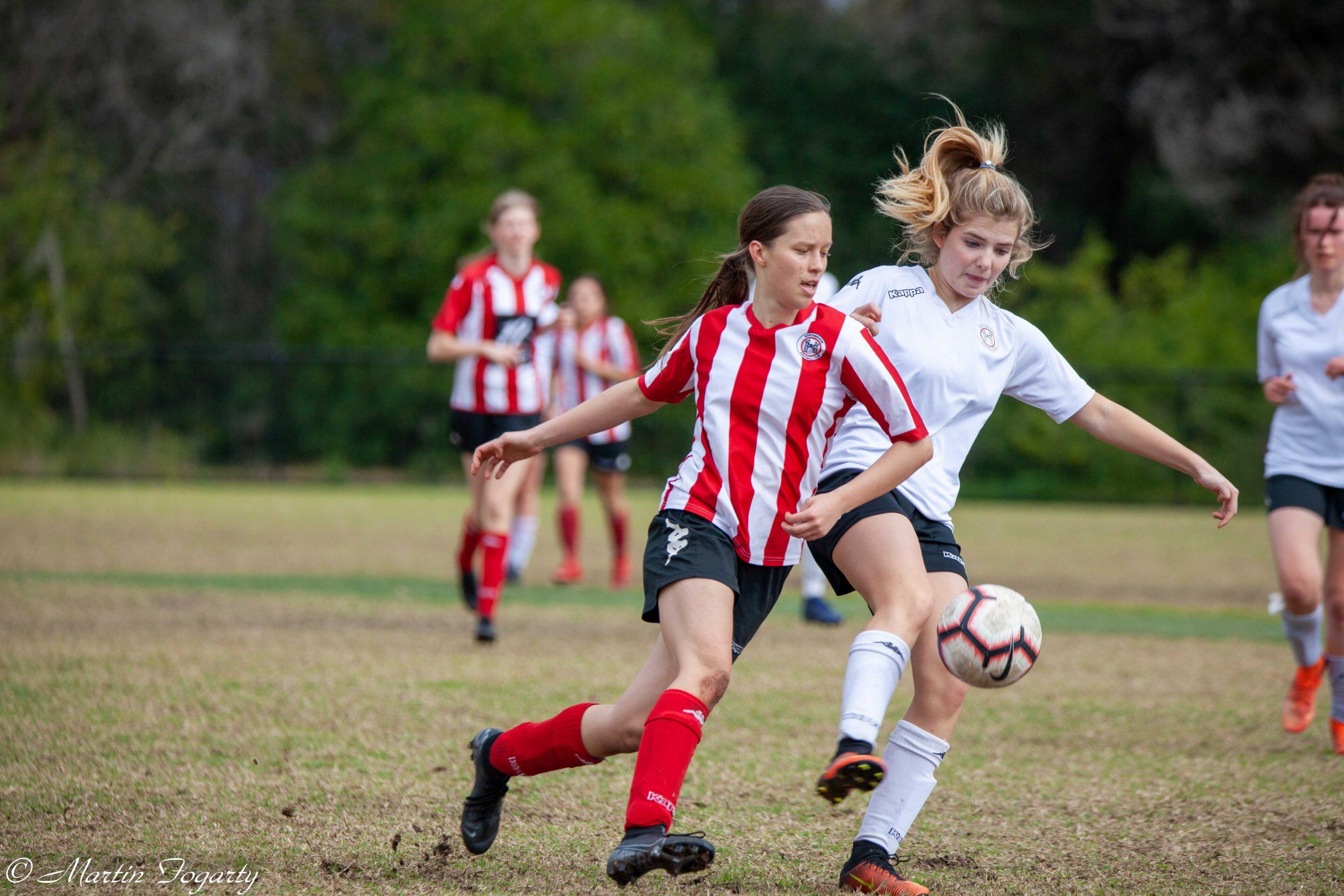 Northbridge FC U18 Diamond League teams go head-to-head