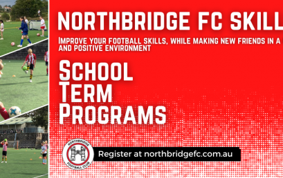 Northbridge FC Skills – School Term Program (U6-U12)