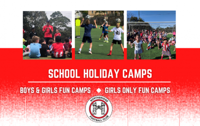 Northbridge FC – Fun School Holiday Camps (U6-U12)