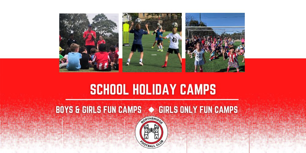 Northbridge FC – Fun School Holiday Camps (U6-U12)
