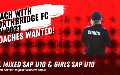NPL Mixed SAP U10 & Girls SAP U10 Coaches Wanted!