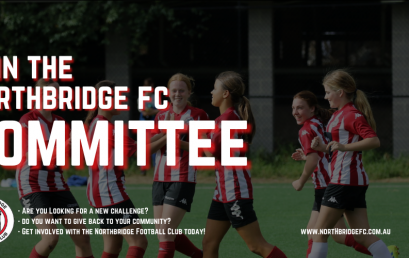 Join the Northbridge FC Committee today!