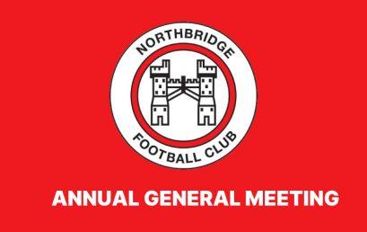 Northbridge FC 2021 AGM – 17th June 2021