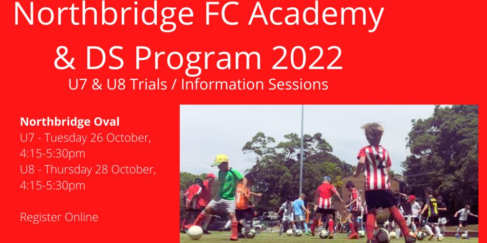 Northbridge FC Academy & DS U7U82022